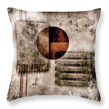 Autumnal Equinox Throw Pillow