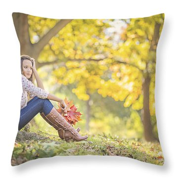 Autumnalia Throw Pillow