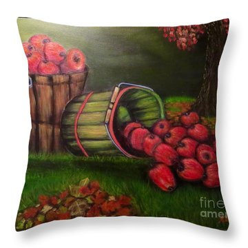 Autumn's Bounty In The Volunteer State Throw Pillow