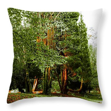 Autumns Calling Throw Pillow