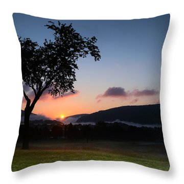 Autumn's First Breath Throw Pillow