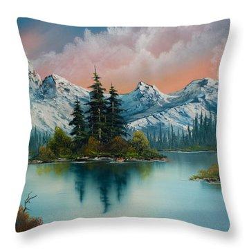 Autumn's Glow Throw Pillow by Chris Steele