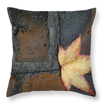 Autumn's Leaf Throw Pillow