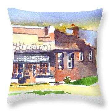 Av Art Studio Throw Pillow by Kip DeVore