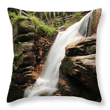 Avalanche Falls Throw Pillow