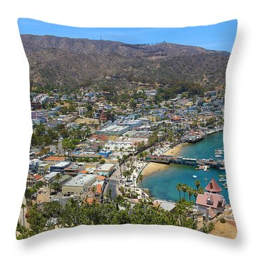 Throw Pillow featuring the photograph Avalon by Kevin Ashley