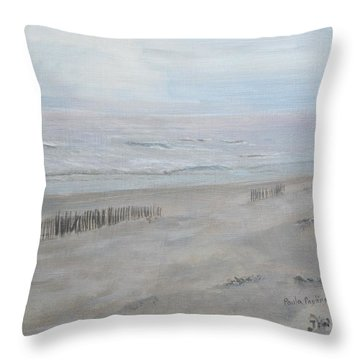 Avalon Mist Throw Pillow