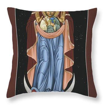 Ave Maris Stella  Hail Star Of The Sea 044 Throw Pillow