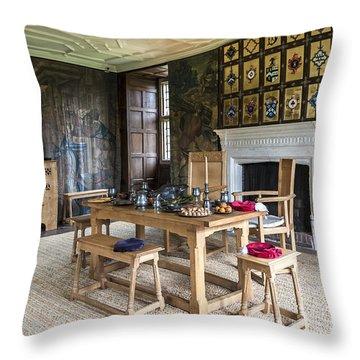 Avebury Manor Throw Pillow by Svetlana Sewell