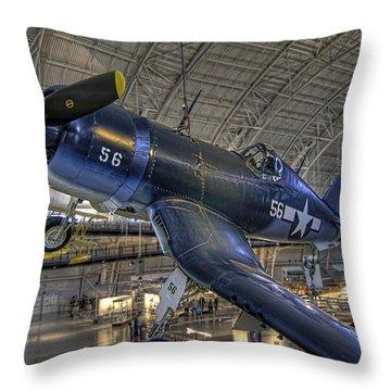 Avenger Throw Pillow