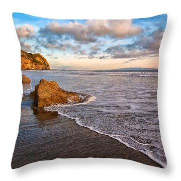 Avila Beach Throw Pillow