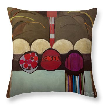 Avot V'imahot Throw Pillow