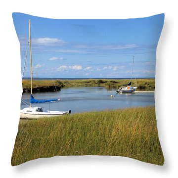 Throw Pillow featuring the photograph Awaiting Adventure by Gordon Elwell