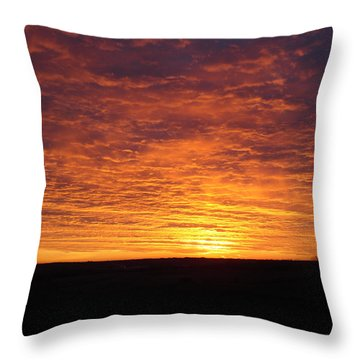 Awaiting The Dawn Throw Pillow