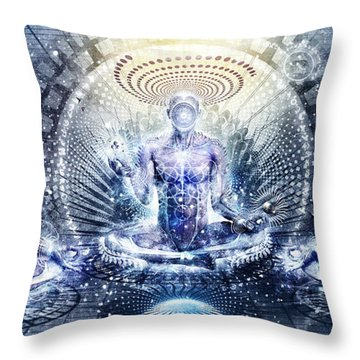 Awake Could Be So Beautiful Throw Pillow