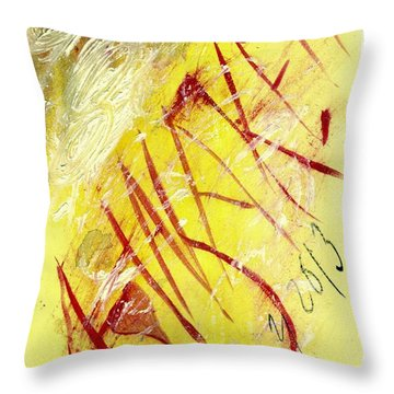 Awaken 2013 Throw Pillow by Lesley Fletcher