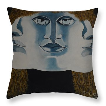 Awaken To All Who Dwell Inside Throw Pillow by Stuart Engel
