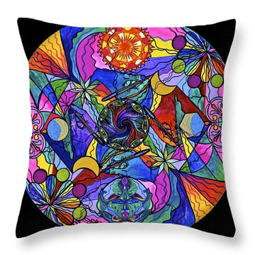 Awakened Poet Throw Pillow