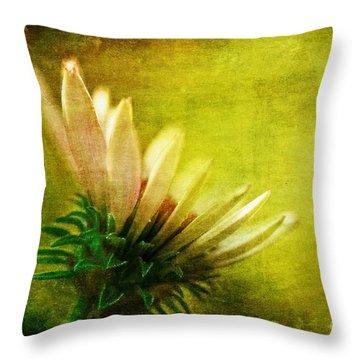 Awakening Throw Pillow by Lois Bryan