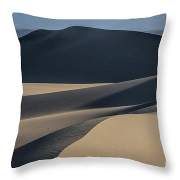 Awakening  Throw Pillow by Sandra Bronstein