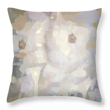 Awakening Throw Pillow by Steve Mitchell