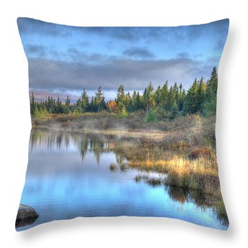 Awakening Your Senses Throw Pillow