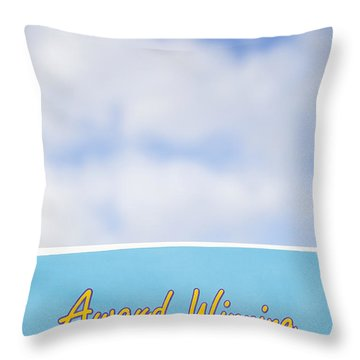 Award Winning Ice Cream Throw Pillow