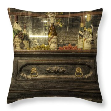 Award Winning Wine Throw Pillow by Jason Politte