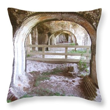 Away Throw Pillow by Andrea Anderegg
