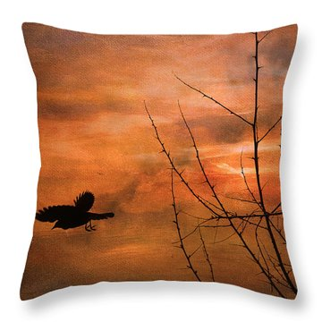 Away Home Throw Pillow