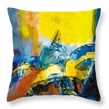 Always Number One Throw Pillow