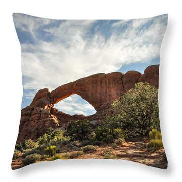 Awesome Arch Throw Pillow