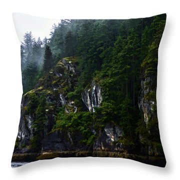 Awesomeness Of Nature Throw Pillow