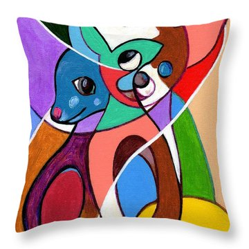 Ay Chihuahua Throw Pillow