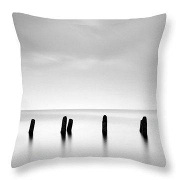 Ayrshire Coast Throw Pillow by Grant Glendinning