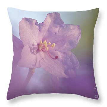 Throw Pillow featuring the photograph Azealia  by Inge Riis McDonald