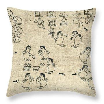 Aztec Migration Throw Pillow