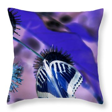 Azul Throw Pillow
