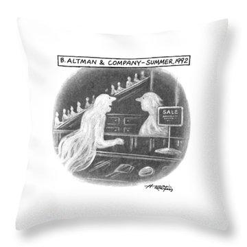 B. Altman & Company - Summer Throw Pillow