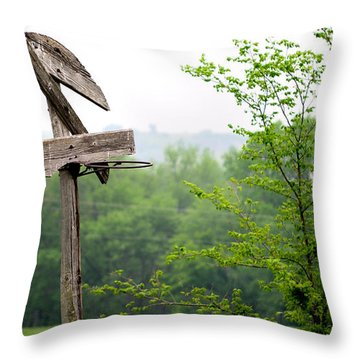 B-ball History Throw Pillow