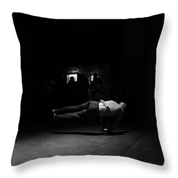 B Boy 6 Throw Pillow