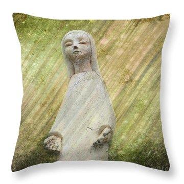 B. Grateful Throw Pillow