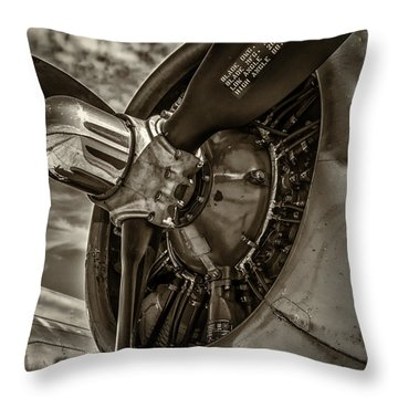 B17 Prop Throw Pillow