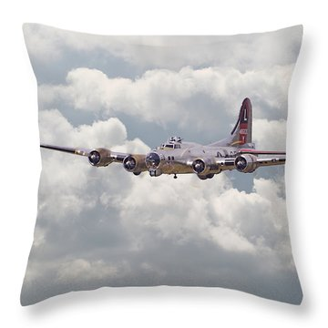 B17- Yankee Lady Throw Pillow