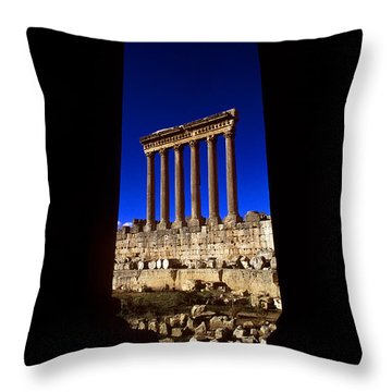 Baalbek Throw Pillow