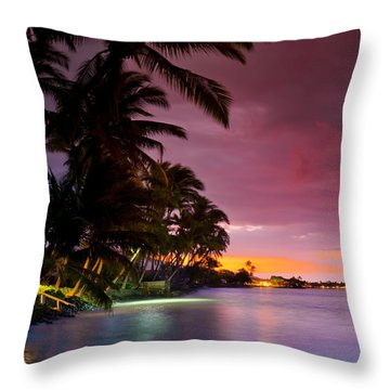 Baby Blues And Pinks Throw Pillow