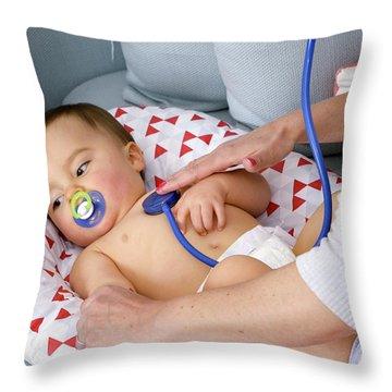 Pediatricians Throw Pillows