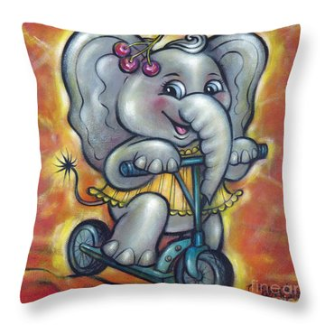 Baby Elephant 101011 Throw Pillow
