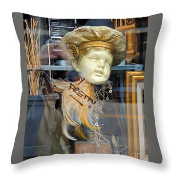 Baby Face  Throw Pillow