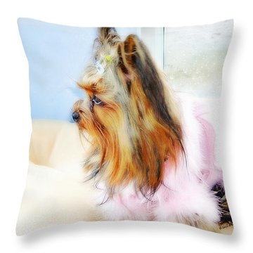 Baby II Throw Pillow
